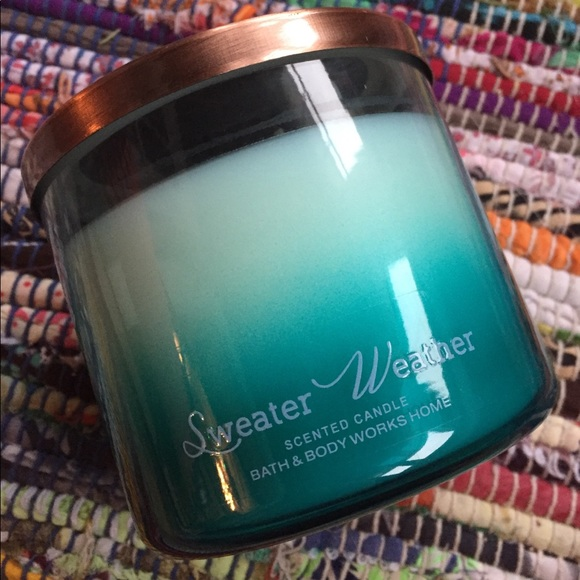 Bath Body Works Other Bath Body Works Candle In Sweater Weather